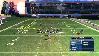 getlinkyoutube.com-Pistol Ace Scheme - Great Running Plays - Madden 15 Ultimate Team Tips - Madden 15 Gameplay
