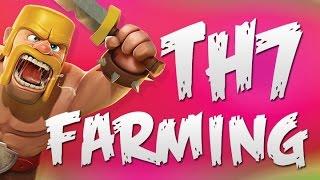getlinkyoutube.com-Best TH7 Farming Strategy | Clash of Clans | LOOT!