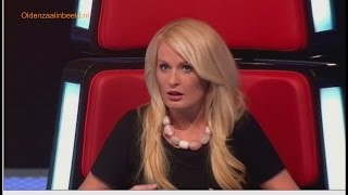 getlinkyoutube.com-The voice of Holland Sanne met stomheid geslagen