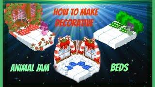 getlinkyoutube.com-Animal Jam: How To Make Decorative Beds