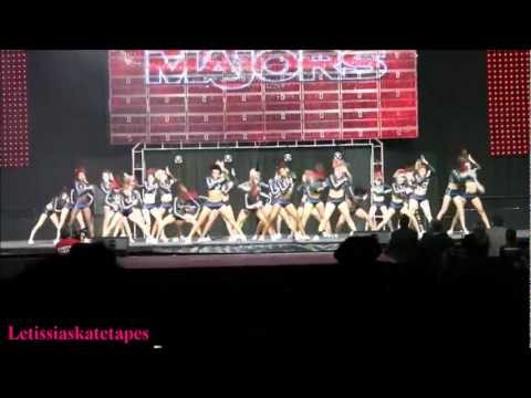 Cheer Athletics Panthers - 2012 The MAJORS  - HD