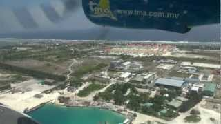 getlinkyoutube.com-Maldives 2013 - flight Malé - Kuredu Island