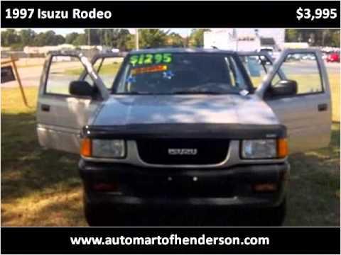 1997 Isuzu Rodeo Problems Online Manuals And Repair