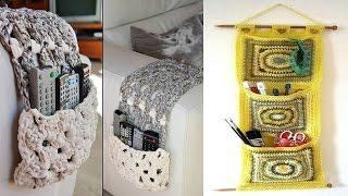 getlinkyoutube.com-Organizadores para baño living habitacion tejidos en crochet ( imagenes )