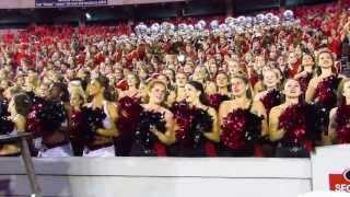 getlinkyoutube.com-Georgia Redcoat Band after win over LSU with Aaron Murray