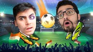 QUEM PERDE SE FERRA!!CLASH WAR VS. CLASH ON! (Online Head Ball)