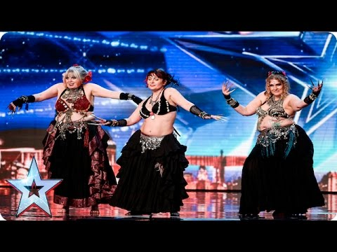 Shani Belly Dancers break the BGT buzzers! | Week 1 Auditions | Britain's Got Talent 2016