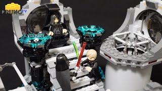 getlinkyoutube.com-LEGO Star Wars Death Star Final Duel - LEGO 75093 Review by 뿡대디