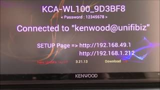 getlinkyoutube.com-Tuitorial updating Kenwood wifi dongle, KCA-WL100 for iPhone Devices