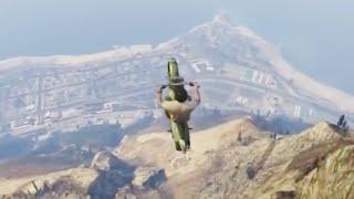getlinkyoutube.com-GTA V Unbelievable Crashes/Falls Funny Moments - Episode 02