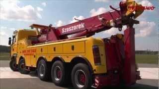 Kierowca i jego Scania - holownik
