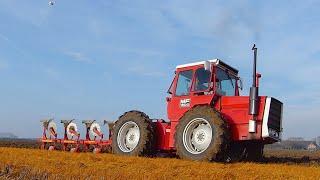 getlinkyoutube.com-Golden Oldie: Massey Ferguson 1200 [Pure Sound] Ploegen | Ploughing | Pflügen