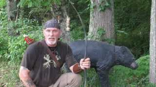 testing a common man's survival bow.wmv