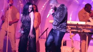 getlinkyoutube.com-Rihanna and Drake - Work  (ANTI World Tour) TicketHurry.com