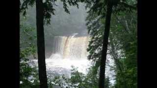 Michigan Waterfalls and original track LOOMING KUNDALINI