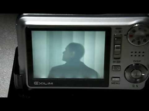 カシオのデジカメ「EX-V7」で他の動画を再生させてみる。(2009年3月20日)