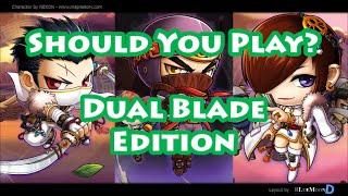 getlinkyoutube.com-Maplestory - Should You Play Dual Blade [Class Review/Overview]
