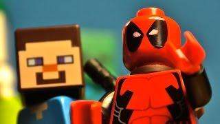 getlinkyoutube.com-Lego Deadpool / Minecraft Crossover