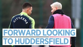 TRAINING TO TAKE ON THE TERRIERS | MAN CITY