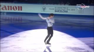 getlinkyoutube.com-(中・日字幕付き)GPF 2014 Gala - Yuzuru Hanyu [Eurosport-British] (Chinese/Japanese Subtitled)