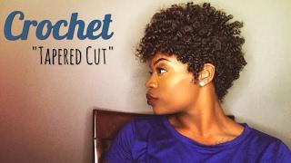 "Easy Crochet ""Tapered Cut"" | feat. Curlkalon Hair"