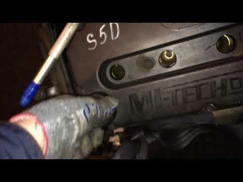 Двигатель S6D-077040 1.6 102 л.с. Kia Spectra – проверка компрессии