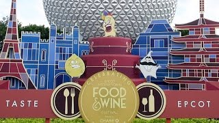 getlinkyoutube.com-Mousesteps Weekly #161 Epcot Food & Wine Festival w/Booths; Chase Lounge; Remy Hide & Squeak; Etc.