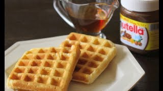 getlinkyoutube.com-How to Make Waffles || وافلز