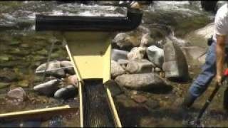 getlinkyoutube.com-High Production Sluice Box