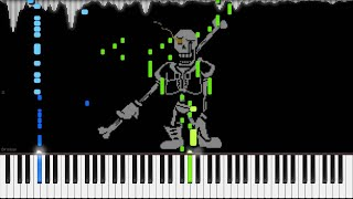 getlinkyoutube.com-Undertale AU // Disbelief (Papyrus's Genocide Route Theme) // Piano
