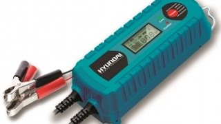 getlinkyoutube.com-Зарядное устройство Hyundai HY 400 обзор Digital Smart Battery Charger