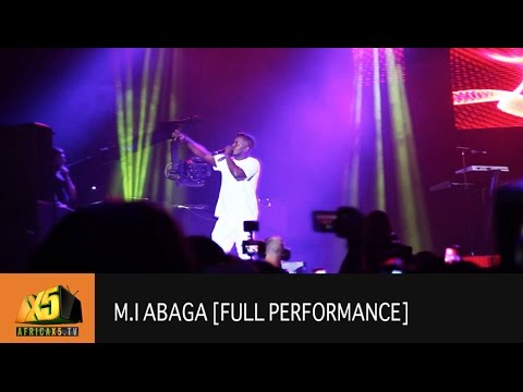 ONE AFRICA MUSIC FEST 2017 | M.I Abaga [Full Performance]