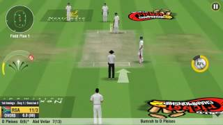 How to get lbw from around the wicket in wcc2