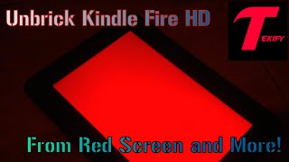 """getlinkyoutube.com-Unbrick Kindle Fire HD 7"""" from Red Screen and More (Tutorial)"""