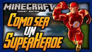 getlinkyoutube.com-Como Ser Un Súperheroe En Minecraft Pe 1.0.2 | Como Tener Poderes En Minecraft PE