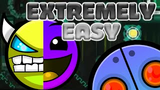 [EXTREMELY EASY DEMON] BassRoom by XxXpandaXxX | Geometry Dash