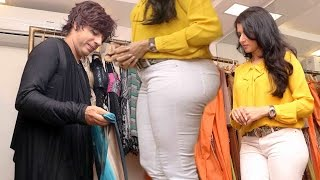 getlinkyoutube.com-Bhagyashree Sexy White Tight Jeans Milky Bum ; )( ; Caught !!
