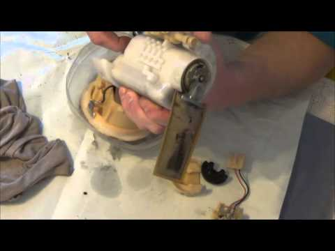 Замена топливного фильтра Toyota RAV4 2.0 VVTi