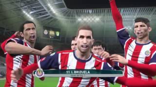 Pes 2017 Chivas vs Leon PS4 Liga MX