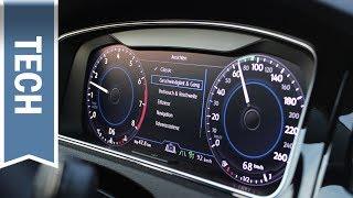 Golf VII Facelift 2017: Das neue Active Info Display (Digitaler Tacho)