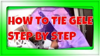 getlinkyoutube.com-, how to tie 'headgear' GELE by yourself  with yoruba gospel songs to match jjj