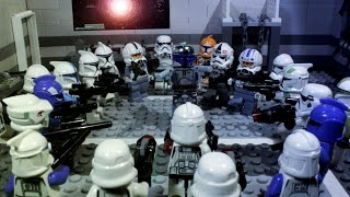getlinkyoutube.com-Jango Fett Vs 21 Troopers - Lego Star Wars