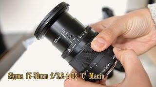 getlinkyoutube.com-Sigma 17-70mm f/2.8-4 OS Macro 'C' lens review (with samples)