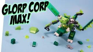 getlinkyoutube.com-LEGO Mixels Series 6 The Glorp Corp Cousins Dribbal Gurggle & Slusho Max Opening Review