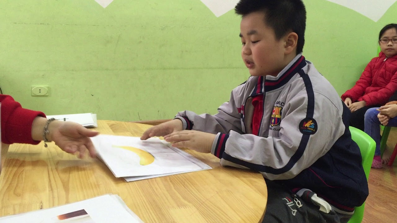 David - Hùng Vương (7 years old) - London 1 - Ms.Lucy