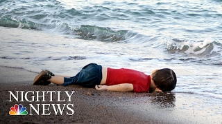 getlinkyoutube.com-Stirring Images of Syrian Boy's Body Now Symbol of Europe's Crisis | NBC Nightly News