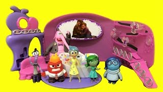 getlinkyoutube.com-Inside Out Headquarters Complete Toy Review Set. Joy, Disgust, Fear, Sadness, Anger & Bing Bong.