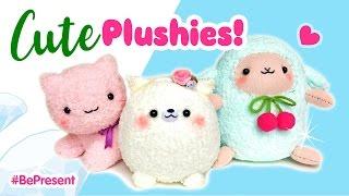 getlinkyoutube.com-3 Adorable Handmade Plushies!!! Budget DIY Gifts for People You Love