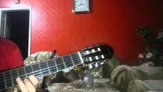 تعليم عزف أغنية غريبة الناس على الجيتار
