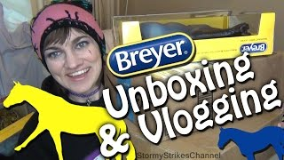 Unboxing & Vlogging about Breyer Horses ~ BreyerFest, Clubs, Breyer Movie, etc.